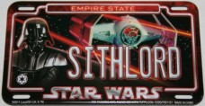 SITHLORD-2011-Star-Wars-Power-Plate-Authentic-Metal-Mini-Star-Wars-License-Plate-with-Magnetic-Back-0