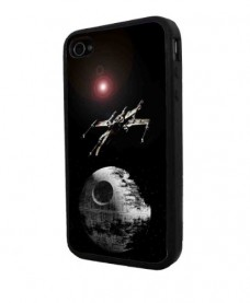 STAR-WARS-Death-Star-Iphone-4-Case-Iphone-Cover-Iphone-Hard-Rubber-Case-Black-All-Carriers-0