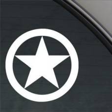 STAR-WW2-STAR-Style1-WAR-STAR-5-color-WHITE-Vinyl-Decal-Window-Sticker-for-Cars-Trucks-Windows-Walls-Laptops-and-other-stuff-0