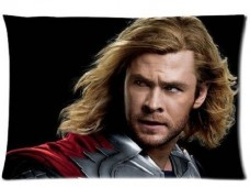Smile-Of-Cherry-New-Avenger-Thor-Chris-Hemsworth-Pillowcase-Standard-Size-2030InchApproximate-5076-cm-Soft-Comfortable-Nice-Cover-Pillow-Casetwo-sides-0