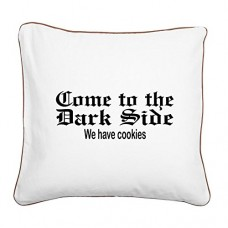 Square-Canvas-Throw-Pillow-Brown-Come-to-the-Dark-Side-We-Have-Cookies-0