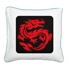 Square-Canvas-Throw-Pillow-Caribbean-Blue-Tribal-Red-Dragon-0