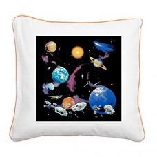 Square-Canvas-Throw-Pillow-Orange-Solar-System-And-Asteroids-0