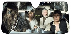 Star-Wars-Auto-Sun-Shades-Summer-Dual-Bubble-Fan-Folded-Premium-Standard-Size-Sunshade-Bonus-Apple-Air-Freshener-0