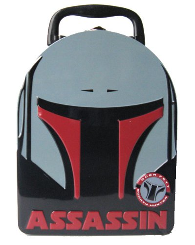 d295a8d2ed12 Star Wars Boba Fett Metal Boys Tin Lunch Box