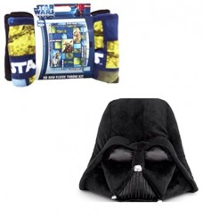 Star-Wars-Character-Collage-No-Sew-Fleece-Blanket-with-Darth-Vader-Pillow-0