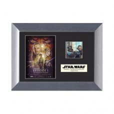 Star-Wars-Collectible-The-Phantom-Menace-Mini-Film-Cell-Plaque-0