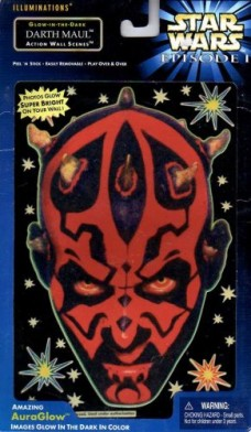 Star-Wars-Episode-1-Illuminations-Glow-in-the-dark-Darth-Maul-Action-Wall-Scenes-0