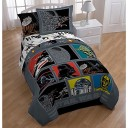 Star-Wars-Full-Bedding-Collection-with-Bonus-Darth-Vader-Pillow-Buddy-May-the-Force-Be-with-You-When-Sleeping-in-This-Easy-Care-Soft-Microfiber-7-Piece-Bed-in-a-Bag-Sheets-Pillow-Case-Sham-and-Stuffed-0