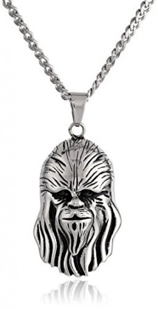 Star-Wars-Jewelry-Unisex-3D-Chewbacca-Stainless-Steel-Pendant-Necklace-24-0