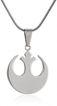 Star-Wars-Jewelry-Unisex-Rebel-Alliance-Stainless-Steel-Small-Chain-Pendant-Necklace-24-0