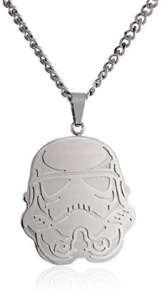 Star-Wars-Jewelry-Unisex-Storm-Trooper-Stainless-Steel-Chain-Pendant-Necklace-24-0