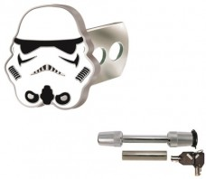 Star-Wars-Storm-Trooper-Solid-Metal-Brushed-Chrome-Hitch-Plug-Receiver-Cover-Universal-Receiver-Hitch-Pin-Lock-0