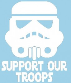 Star-Wars-Storm-Trooper-Support-Our-Troops-White-VINYL-Car-Decal-Art-Wall-Sticker-Car-USA-6-Swift-0
