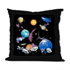 Suede-Throw-Pillow-Black-Solar-System-And-Asteroids-0
