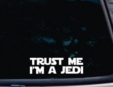 TRUST-ME-Im-a-JEDI-8-x-2-38-die-cut-vinyl-decal-for-window-car-truck-tool-box-virtually-any-hard-smooth-surface-0