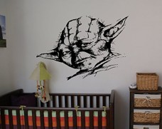 Yoda-Jedi-May-Force-Be-With-You-Decal-Sticker-Star-Wars-Death-Star-Storm-Trooper-Yoda-Wall-Art-Wall-Decals-Wall-Stickers-tr395-0