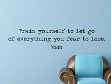 Yoda-Starwars-Quote-Inspirational-Motivational-Wall-Decal-Home-Dcor-Train-Yourself-to-Let-Go-42x9-Inches-0