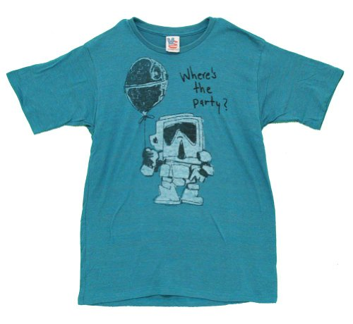 Junk-Food-Mens-Storm-Trooper-Wheres-The-Party-Shirt-Reef-Blue-X-Large-0