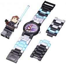 LEGO-Kids-8020288-Star-Wars-Anakin-Stainless-Steel-Watch-With-Minifigure-0
