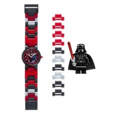 LEGO-Kids-8020301-Star-Wars-Darth-Vader-Plastic-Watch-with-Link-Bracelet-and-Character-Figurine-0