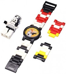 LEGO-Kids-9002922-Star-Wars-Stormtrooper-Plastic-Watch-with-Link-Bracelet-and-Figurine-0