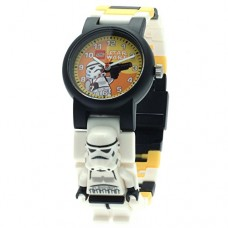 LEGO-Kids-9004339-Star-Wars-Stormtrooper-Plastic-Watch-with-Link-Bracelet-and-Figurine-0