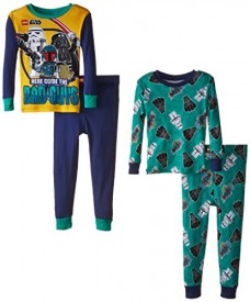 Little-Boys-Star-Wars-2-For-1-Cotton-Pajamas-BlueGreen-8-0