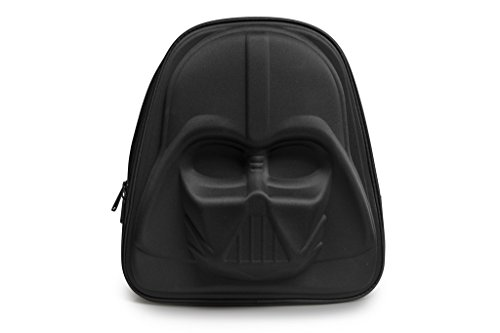 Loungefly-Darth-Vader-3D-Molded-Nylon-Backpack-Black-One-Size-0
