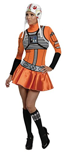 Secret-Wishes-Star-Wars-Female-X-Wing-Fighter-OrangeBlack-Small-0