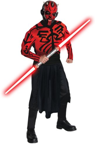 Star-Wars-Adult-Deluxe-Darth-Maul-Muscle-Chest-Costume-And-Mask-RedBlack-Standard-0