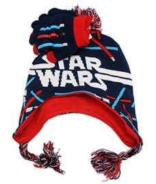 Star-Wars-Big-Boys-Knit-Pom-Peruvian-Hat-and-Glove-Set-Royal-One-Size-0