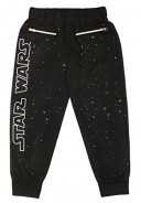 Star-Wars-Big-Girls-French-Terry-Pant-with-Zipper-and-Iridescent-Glitter-Black-X-Large-0