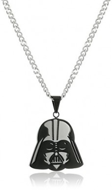 Star-Wars-Jewelry-Mens-Darth-Vader-Stainless-Steel-Chain-Pendant-Necklace-24-0