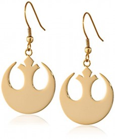 Star-Wars-Jewelry-Rebel-Alliance-Gold-IP-Stainless-Steel-Dangle-Hook-Drop-Earrings-0