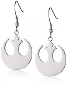 Star-Wars-Jewelry-Rebel-Alliance-Stainless-Steel-Dangle-Hook-Drop-Earrings-0