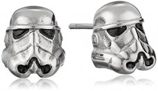 Star-Wars-Jewelry-Unisex-3D-Storm-Trooper-Stainless-Steel-Stud-Earrings-0