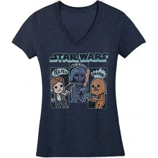 Star-Wars-Juniors-Cartoon-Vader-Chewie-Luke-Skywalker-Graphic-Tee-Navy-Heather-Medium-0