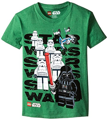 Star-Wars-Lego-Big-Boys-Troopers-with-Vader-Shirt-Green-Heather-1012-0