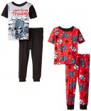 Star-Wars-Little-Boys-Here-Comes-Trouble-4-Piece-Pajama-Set-Multi-4T-0