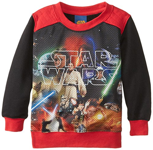 Star-Wars-Little-Boys-The-Big-Picture-1-Toddler-BlackRed-4T-0