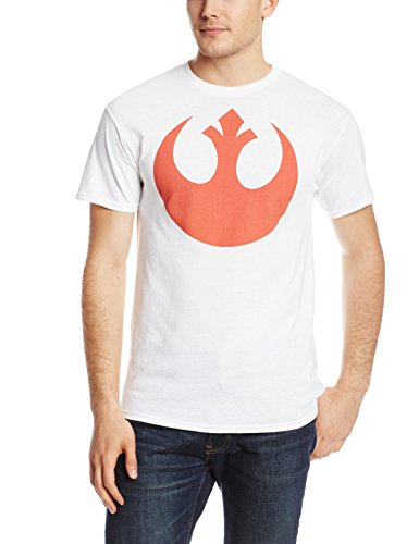Star-Wars-Mens-Alliance-Emblem-T-Shirt-White-X-Large-0