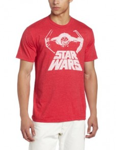 Star-Wars-Mens-Bat-Fighter-Tee-Red-Heather-Medium-0