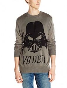 Star-Wars-Mens-Darth-Vader-Mask-Sweater-Grey-X-Large-0