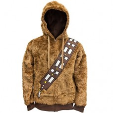 Star-Wars-Mens-I-Am-Chewie-Hooded-Costume-Fleece-Brown-Large-0