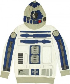 Star-Wars-Mens-I-am-R-2-Fleece-Hoodie-White-Small-0