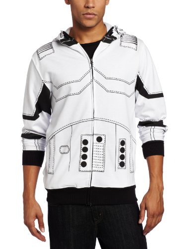 Star-Wars-Mens-I-am-a-Trooper-Fleece-Hoodie-White-Large-0