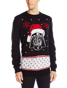 Star-Wars-Mens-Vader-Claus-Sweater-Black-Small-0